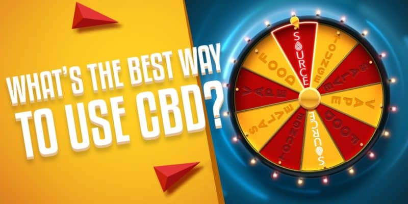 best way to take CBD