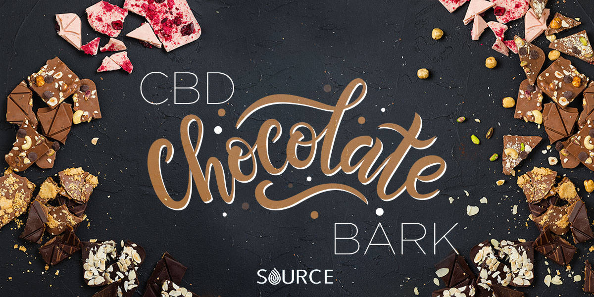 CBD Chocolate bark