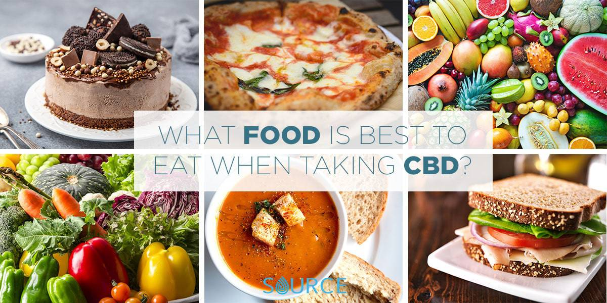 CBD with food